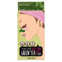 Nose pore strips green-tea