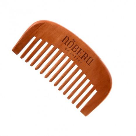 Peine para barba de madera de peral