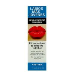 Crema antiarrugas para labios