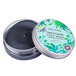Mascarilla purificante con carbón activo y salvia / Time to Reset Clay Mask