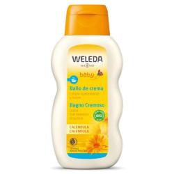 Baño de Crema Bebé Caléndula 200 ml