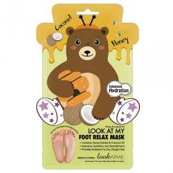 Foot relax mask Honey&Coconut Oil